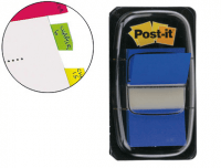 Marcadores Post-It Index Medianos Azules