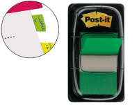 Marcadores Post-It Index Medianos Verdes