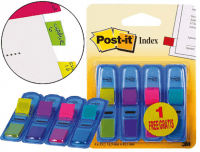 Pack 4 Marcadores Post-It Index Pequeños