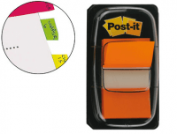 Marcadores Post-It Index Medianos Naranjas