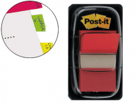 Marcadores Post-It Index Medianos Rojos