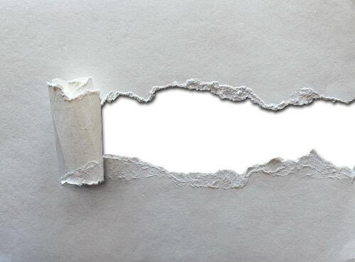 Textura de folios para impresora