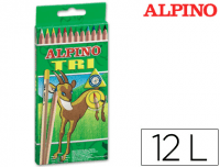 Lápices Alpino Trimax