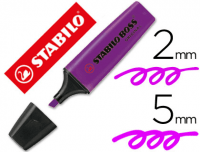 Marcador Stabilo Boss Original, color lavanda