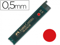 Minas Faber TK-Color rojas ø 0.5 mm