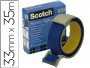 Precinto postal seguridad Scotch Secure Tape de color azul