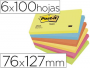 Comprar Post-It energía de tamaño rectangular 76x127 mm