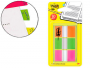Marcadores de colores Post-It Index 680 (lima, fucsia y naranja)
