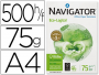 Navigator ECO-Logical 75g — Papel ecológico de 75 gramos