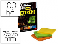 Notas Post-It Extreme 76x76 mm
