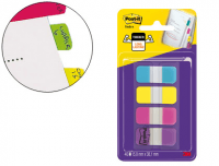 Pack 4x10 banderitas Post-It rígidas 676-aypv