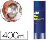 Adhesivo Spray 3M Remount 400 ml