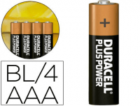 Pilas alcalinas Duracell Plus Power
