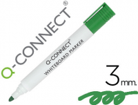 Rotulador de pizarra blanca Q-Connect 3 mm verde