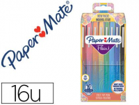 Rotuladores PaperMate Flair de colores tropicales