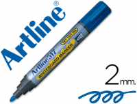 Rotuladores Artline pizarra con tinta antisecado 2 mm