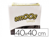 Servilletas amoos luxury de doble capa 40x40 cm