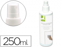 Spray limpiador de pizarras blancas Q-Connect 250 ml