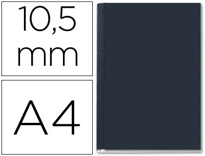 10.5 mm, color negro