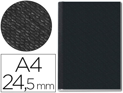 24.5 mm, color negro