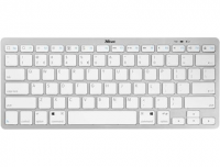 Teclado Bluetooth® Slim blanco para iPad y iPhone