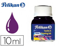 Tinta china violeta Pelikan, frasco 10 ml
