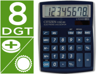 Calculadora Citizen CDC-80BL 8 Digitos azul metal