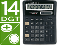 Calculadora Citizen SDC-414N de 14 digitos con dos memorias