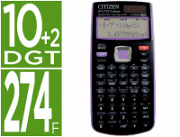 "Calculador científica Citizen SR-270X College ""Cool 4 School"""