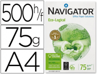 Papel Navigator Din A-4 ECO-Logical 75g, 5 paquetes 500 h